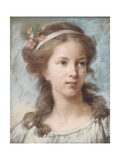 Portrait of a Young Girl Giclée-Druck von Elisabeth Louise Vigee-LeBrun