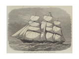 The Tea-Ship Spindrift, Winner of the Ocean Race from China Reproduction procédé giclée par Edwin Weedon