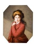Portrait of the Countess Nikolai Nikolaevich Golovin, 1797-1800 Giclée-Druck von Elisabeth Louise Vigee-LeBrun