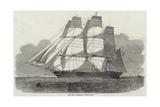 The Ship Oriental, of New York Reproduction procédé giclée par Edwin Weedon