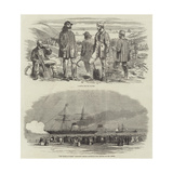 Navvies for the Crimea Giclee Print by Edwin Weedon