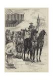 The London Season, Going to the Drawingroom Giclee Print by Edmond Morin