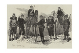 Some of the Defenders of Paris Giclee Print by Felix Regamey