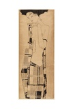 Standing Girl, C.1908-09 Giclee Print by Egon Schiele