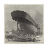 The Leviathan (Great Eastern) Steam-Ship, Stern, and Boss for the Blades of the Screw Giclee Print by Edwin Weedon