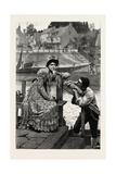None So Deaf as Those Who Won't Hear, 1890 Giclee Print by Edmund Blair Leighton