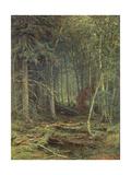 Swamp in the Forest, Autumn, 1872 Giclée-Druck von Fedor Aleksandrovich Vasiliev