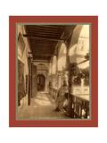 Algiers Gallery, a Moorish House Giclée-tryk af Etienne & Louis Antonin Neurdein