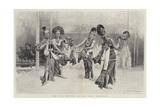 The Java Dancers at the Paris Exhibition Giclée-vedos tekijänä Emile Antoine Bayard