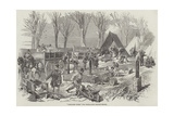 Campaign Ovens, for Victualling French Troops Giclee Print by Edmond Morin