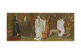 King Lear, Act I, Scene I, Cordelia's Farewell, 1898 Stampa giclée di Edwin Austin Abbey