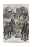 Picture Sale at Messers Christie and Manson's, King-Street, St James's Giclee Print by Edmond Morin