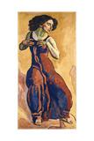 Woman in Ecstasy, 1911 Gicléetryck av Ferdinand Hodler