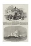 The Grand Naval Review, at Spithead Reproduction procédé giclée par Edwin Weedon