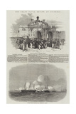 The Grand Naval Review, at Spithead Giclee Print by Edwin Weedon