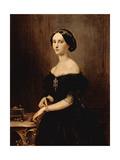 Portrait of a Venetian Woman, C.1852 Giclee Print by Francesco Hayez