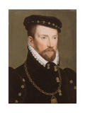 Admiral Gaspard II De Coligny, 1565-70 Giclee Print by Francois Clouet