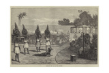 Victims of the Mem-Hoo-Who, Dahomey Giclee Print by Felix Regamey