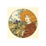 Jalousie (Jealousy), French, 1841 1917 Giclee Print by Eugene Grasset