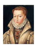 Portrait of a Lady, Previously Identified as Lady Jane Grey Giclee Print by Francois Clouet