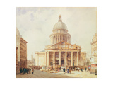 The Pantheon in 1835 Giclée-Druck von Francois Etienne Villeret