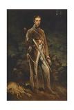 Portrait of Max Von Fabrice Giclée-Druck von Ferdinand Von Rayski