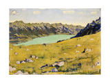 Der Brienzersee Von Breitlauenen Aus, 1906 Giclee-trykk av Ferdinand Hodler