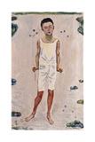 Enchanted Boy; Bezauberter Knabe, 1909 Giclee Print by Ferdinand Hodler