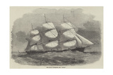 The Danish Clipper-Ship, the Cimber Giclee Print by Edwin Weedon