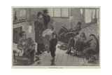 French Communists in London Giclee Print by Felix Regamey