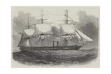 The New Steam-Frigate Mersey, 40 Guns Giclee Print by Edwin Weedon