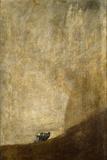 Hunden, 1820-23 Giclée-tryk af Francisco de Goya
