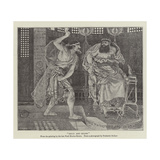 Ehud and Eglon Giclee Print by Ford Madox Brown