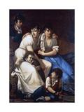Portrait of the Painter's Family, 1807 Giclee Print by Francesco Hayez