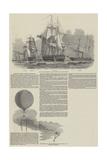 Captain Austin's Arctic Expedition Reproduction procédé giclée par Edwin Weedon