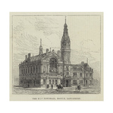 The New Townhall, Bootle, Lancashire Reproduction procédé giclée par Frank Watkins