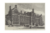 The City and Guilds of London Technical Education Central Institute, South Kensington Reproduction procédé giclée par Frank Watkins