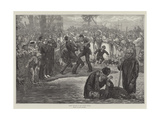 Negro Baptism in the United States Giclee Print by Felix Regamey