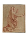Study for Raising of Lazarus, C. 1677 Giclée-Druck von Francois Verdier