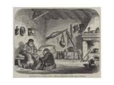 Guzmaroli's Hut, Caprera Giclée-Druck von Frank Vizetelly