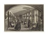 The Royal Hospital of Bethlehem, the Gallery for Women Giclée-Druck von Frank Vizetelly