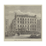 Dental Hospital, Leicester-Square Reproduction procédé giclée par Frank Watkins