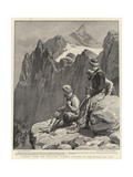 Armenia after the Massacres, Kurdish Brigands in the Hassan Ali Pass Giclee Print by Frank Dadd