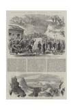 Garibaldi's March Through Calabria Giclée-Druck von Frank Vizetelly