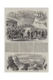 Garibaldi's March Through Calabria Giclee Print by Frank Vizetelly