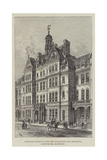 National Hospital for the Paralysed and Epileptic, Queen-Square, Bloomsbury Reproduction procédé giclée par Frank Watkins