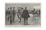 The Breaking of Captain Dreyfus's Sword in the Court of L'Ecole Militaire, 5 January 1895 Reproduction procédé giclée par Frederic De Haenen