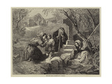 The Holy Well Giclee Print by Frederick Goodall