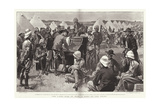 The Light Side of War, a Duet on the Veldt Giclee Print by Frederic De Haenen