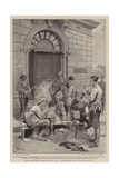 The British Occupation of Johannesburg, Dinner Time Giclee Print by Frederic De Haenen